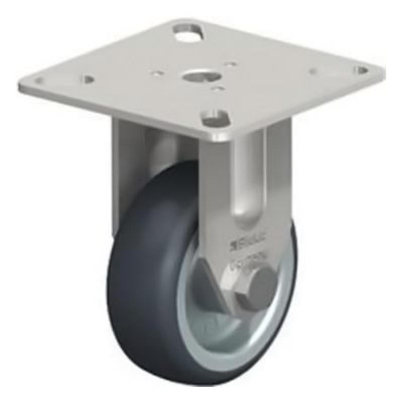 BPXA-TPA 50G Wheel with Thermoplastic Rubber Tread Fixed Castors BPXA-TPA 75G