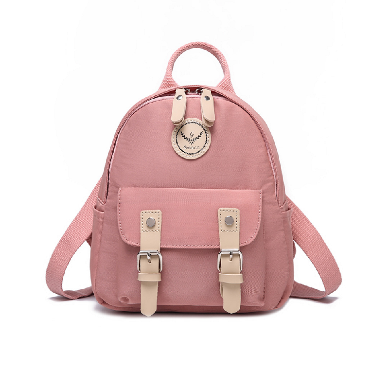 GYKACO VANORA Pink - Tas Ransel Wanita - Fashion Backpack (Import)