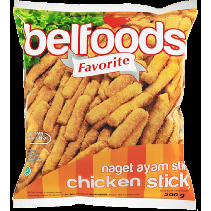 Belfoods Favorite Naget Ayam Stik 500 Gr