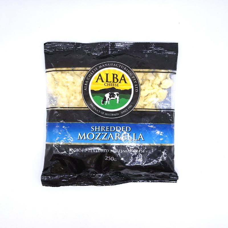Alba Shredded Mozarella 250G