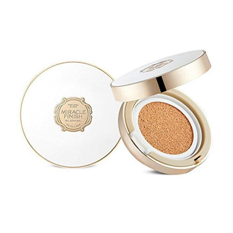 The Face Shop Oil Control Water Cushion SPF50+ PA+++ No. 203
