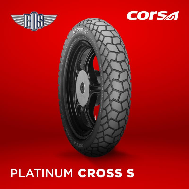 Ban Motor corsa Cross S (Front)-80-90-17-Tubeless- GRATIS JASA PASANG