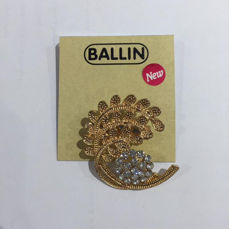 Ballin Women Brooch XP-BR121-4 Gold