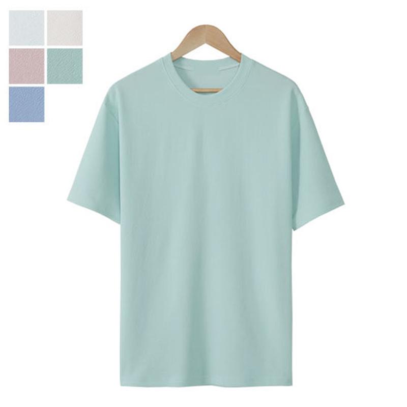 LW_River Round Short Sleeve T-shirt - Mint