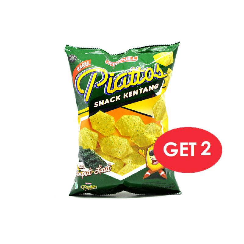 Piattos Seaweed 85 Gr (Get 2)