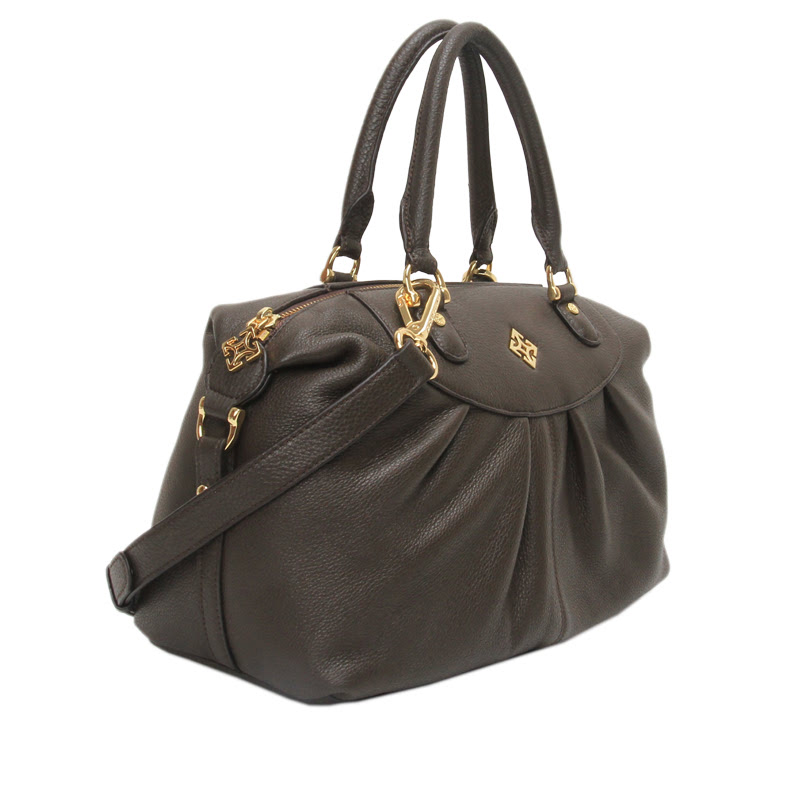 Gobelini T. Ivone Boston Bag Dark Brown