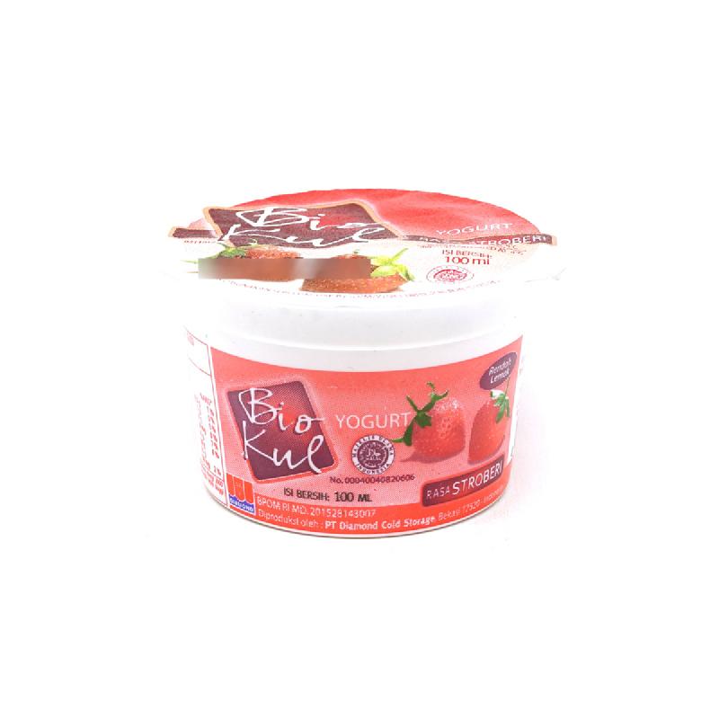 Biokul Stirred Strawberry 100Ml