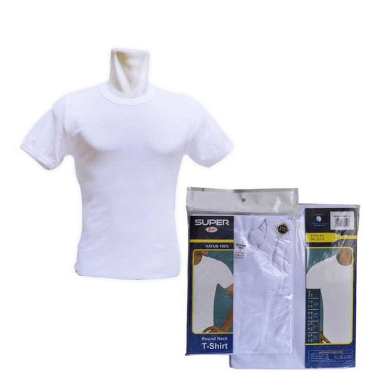 Rider T-Shirt Round Neck White Type R223BW Size S