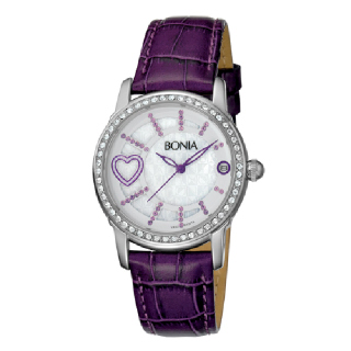 Bonia - B10014-2309S - Jam Tangan Wanita - Purple