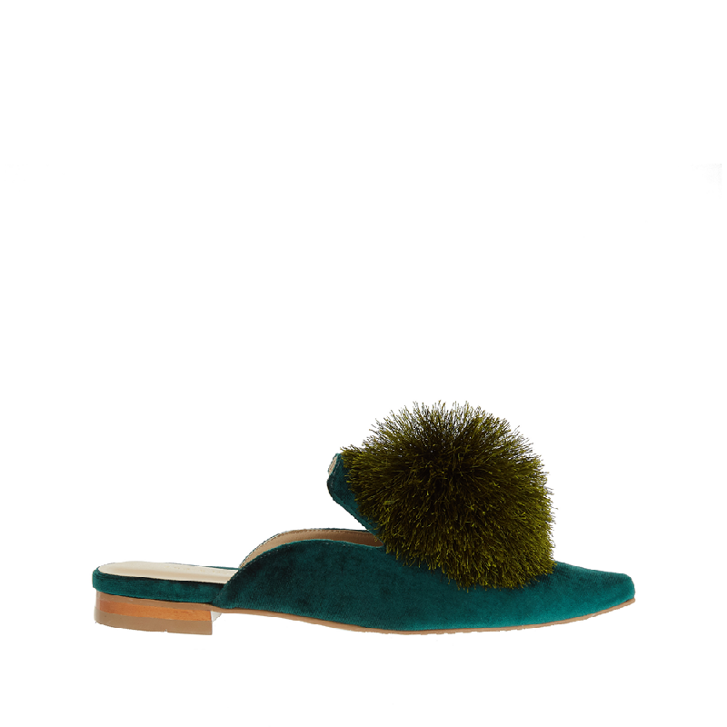 Andre Valentino Courtney Sandals Green