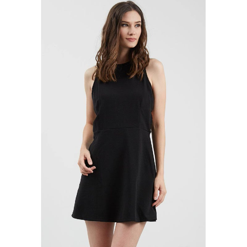 Gwen Eltmann Dress in Black