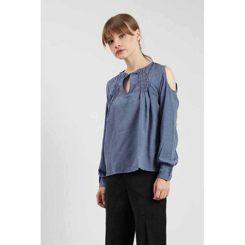 Faydell Dark Blue Top