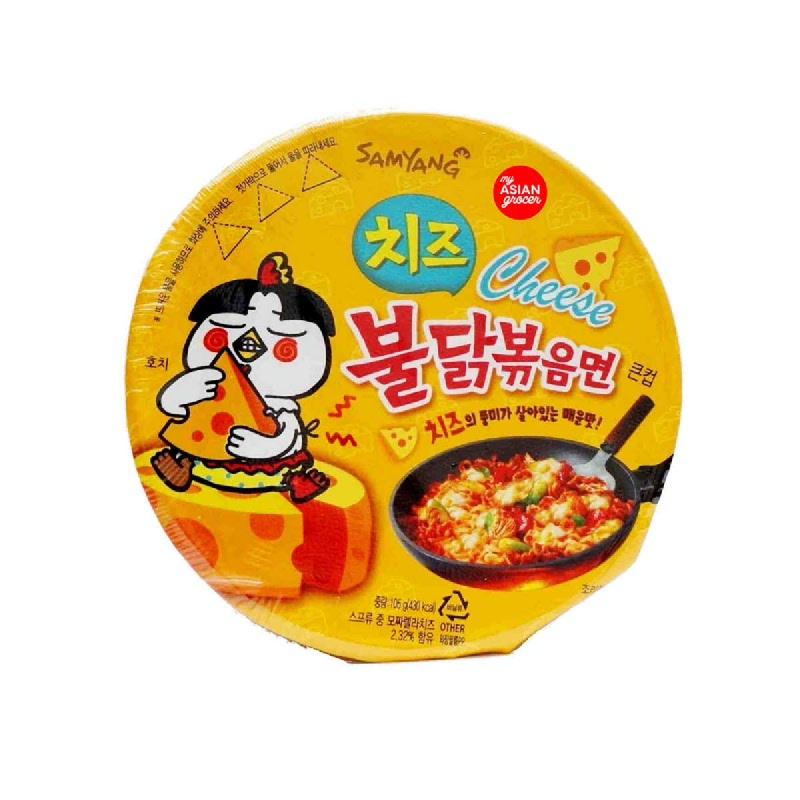 Samyang Hot Chicken Ramen Big Bowl Cheese