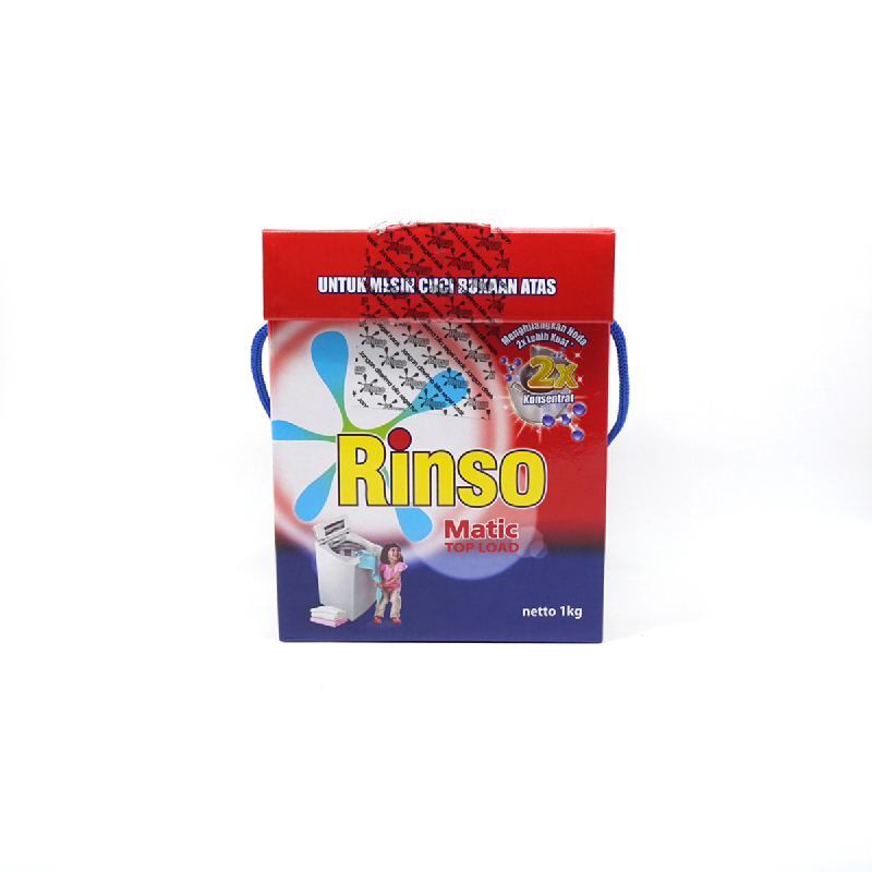 Rinso Detergent Matic Top Load 1Kg