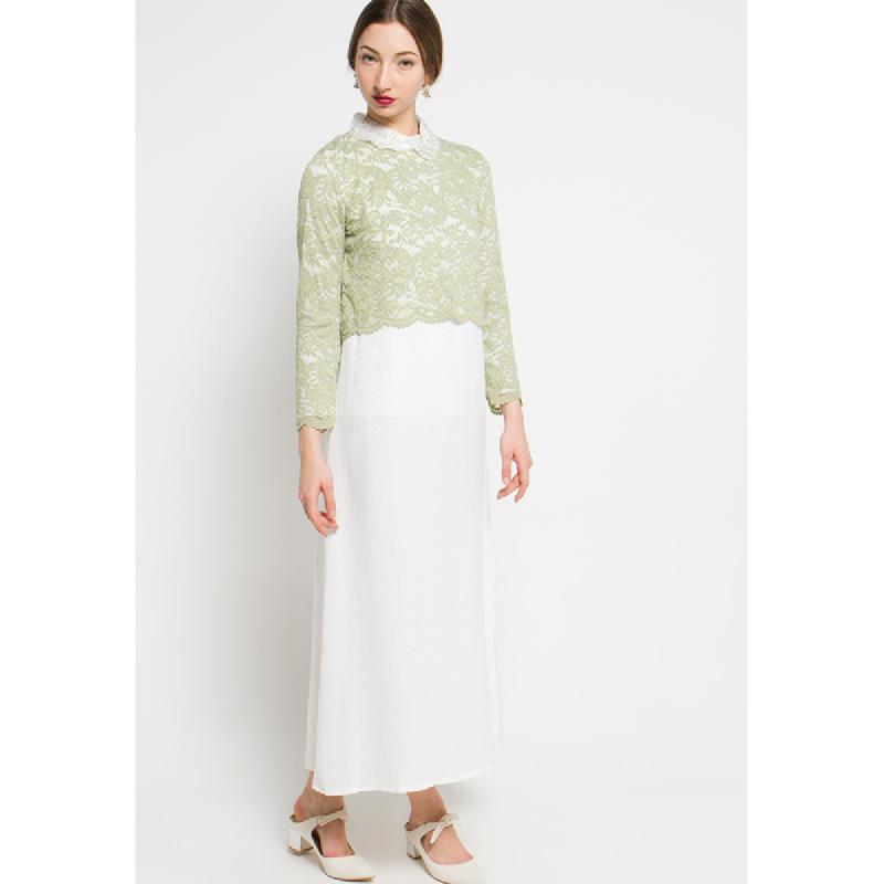 Simplicity Long Dress Green