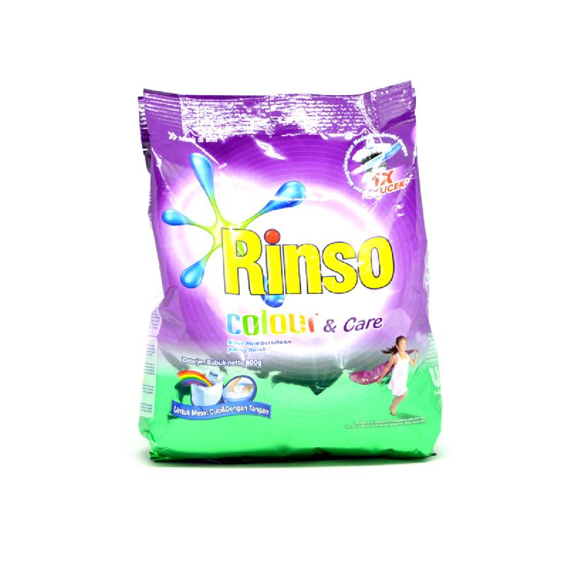 Rinso Detergen Color & Care 800 Gr