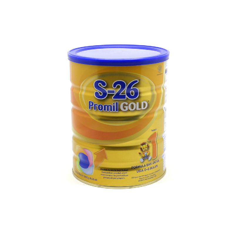 S-26 Susu Bubuk Promil Gold 1 Tin 900Gr (New)
