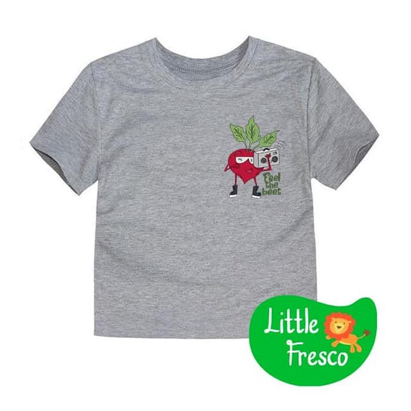 Little Fresco - Kaos Anak Feel The Beet Abu