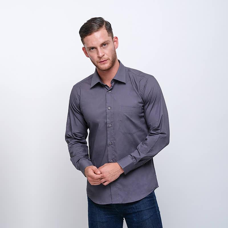 Gianni Visentin Slim Shirt Abu Tua