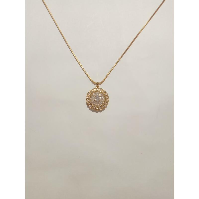 Ballin - Women Necklace FF N0094G Gold