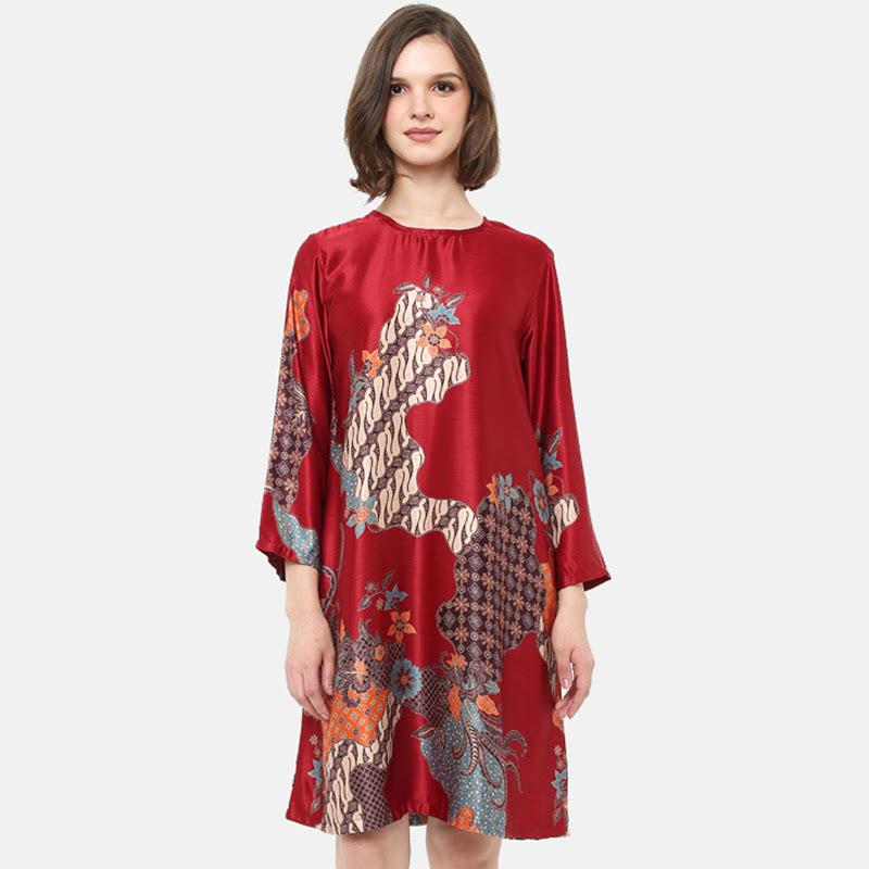 Anakara Aline Dress Gloria Red