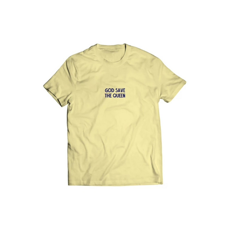 Skelly Tshirt The queen baby yellow