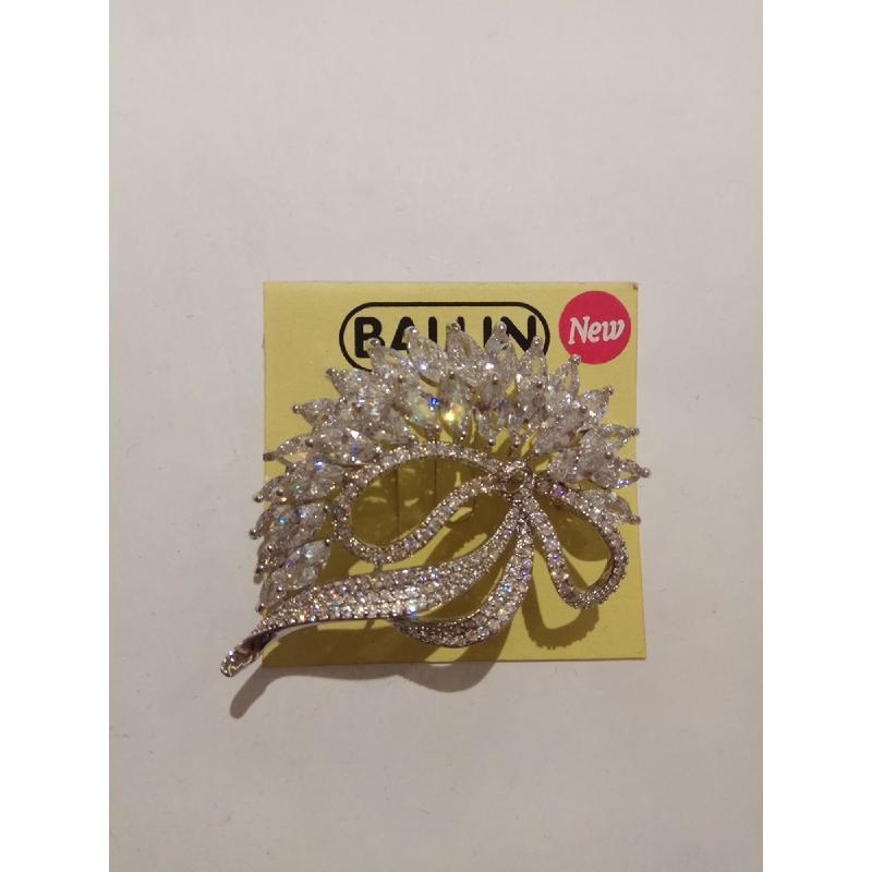 Ballin Women Brooch FF-BR0015S Silver