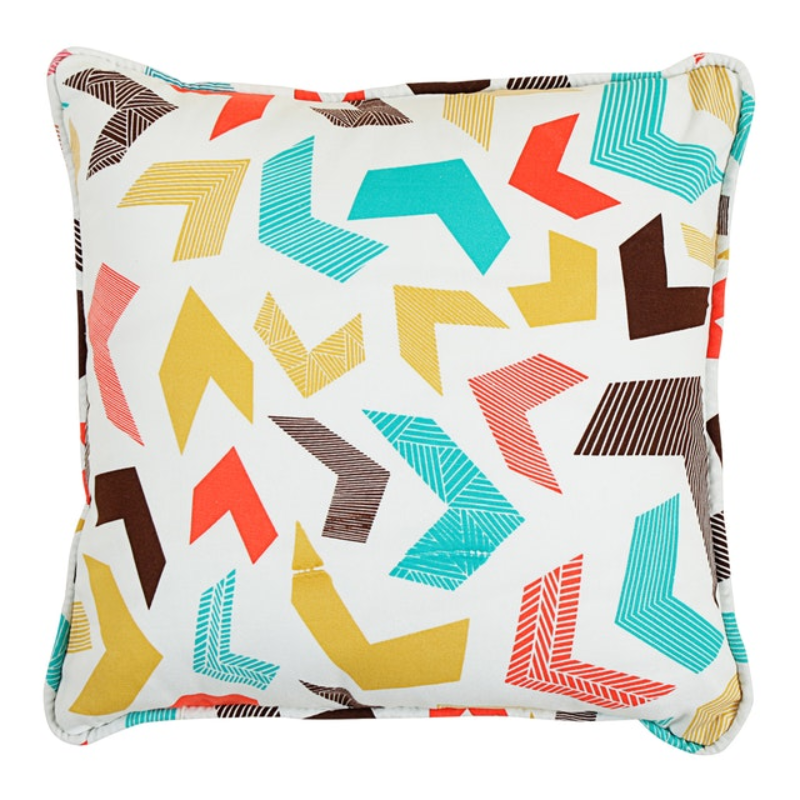 Beam and Co Cushion Cover 40x40cm Case Chevron Party