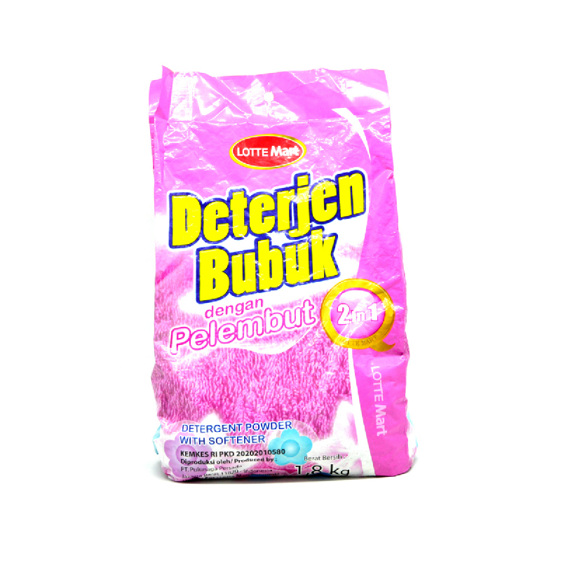 Lm Detergent Bubuk+Pelembut 1.8 Kg