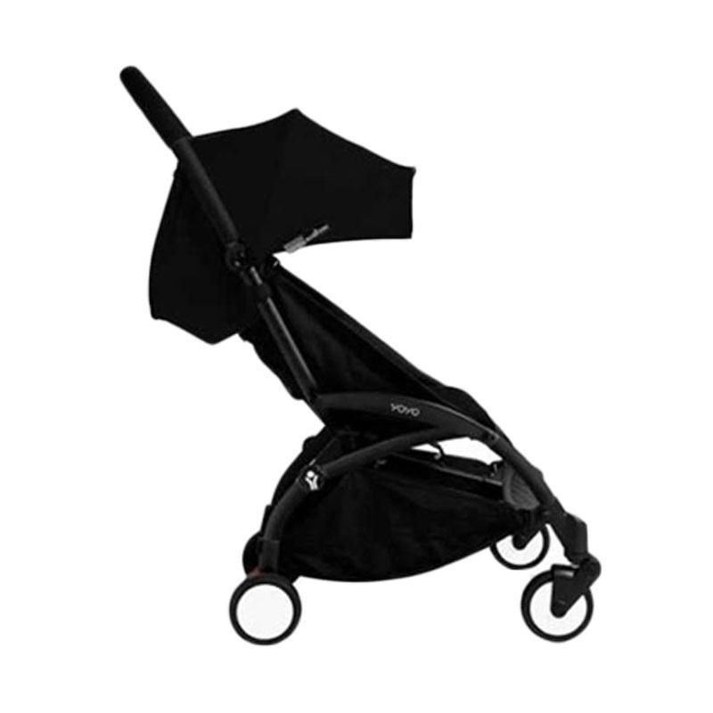 Babyzen Yoyo Stroller + Frame Black New Born Kereta Dorong Bayi [6+] Black