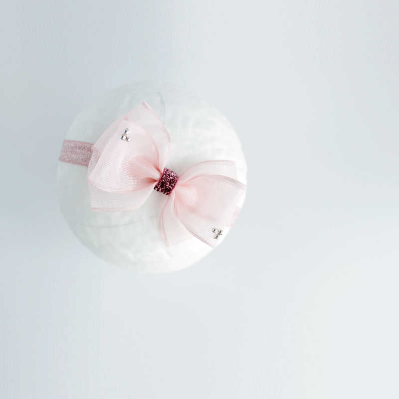 Baby Sequoia Mercy Bow Pink