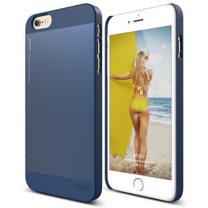 Elago Outfit Case for iPhone 6 Plus - Jean Indigo + Jean Indigo