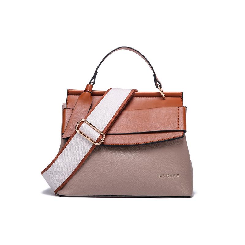 GYKACO INGGRID Brown - Tas Wanita Hand bag - Fashion Top Handle Bag (Import)