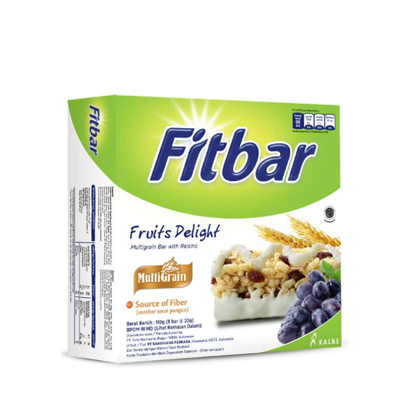 Fitbar Snack Fruits [5 x 24G]