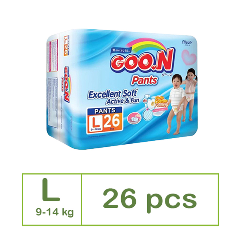 Goo.N Popok Celana Jumbo L 26S