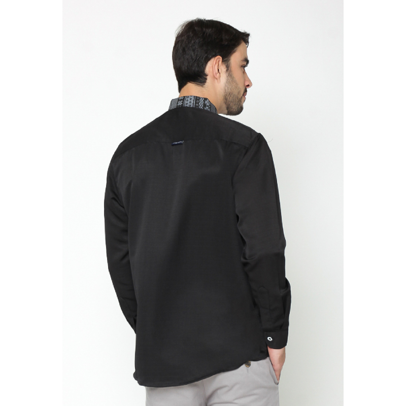 17Seven Longshirt Quba Black