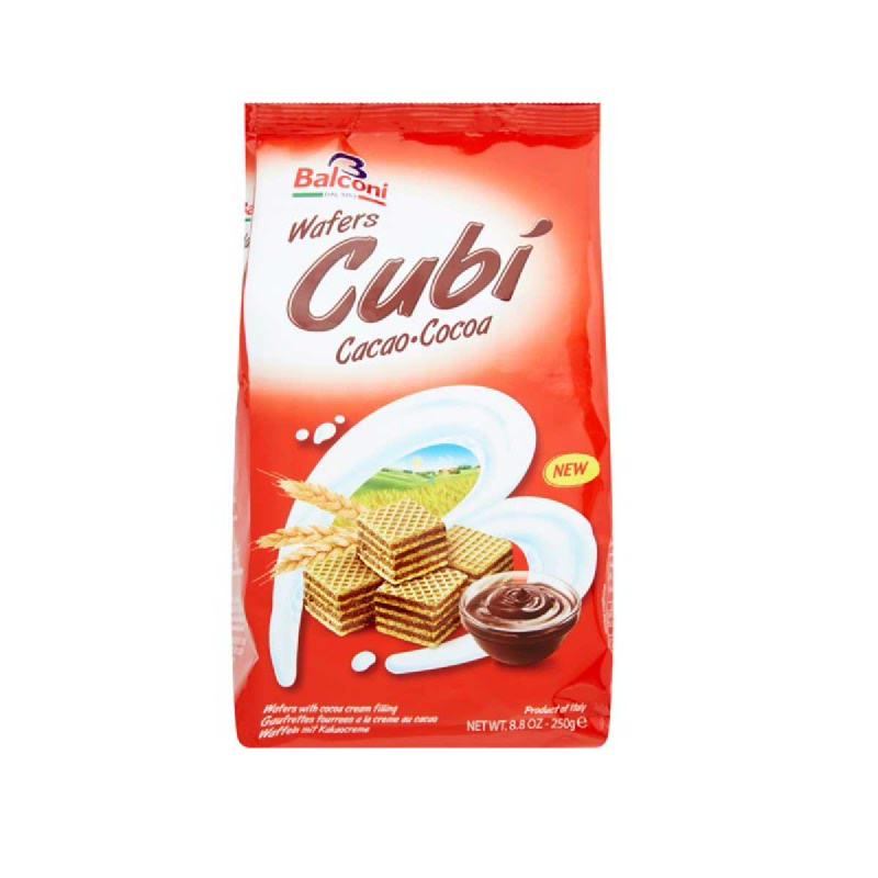Balconi Cubi Wafer Cokelat 250g