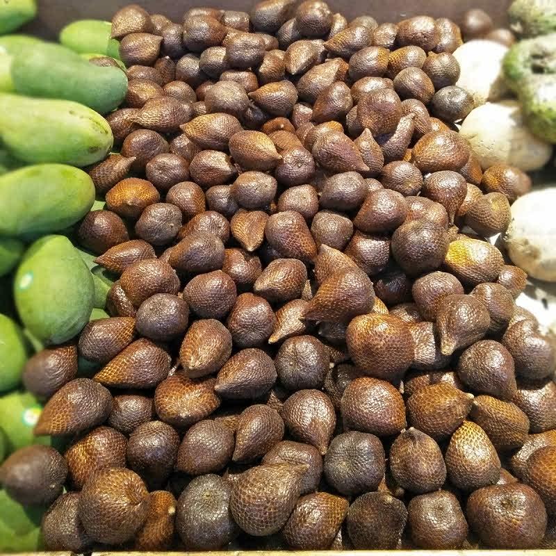 Amin Fruits Salak Pondoh 1 Kg isi 12 - 13 Buah