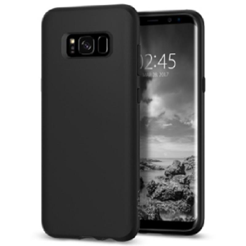 Spigen Galaxy S8 Case Liquid Crystal - Matte Black