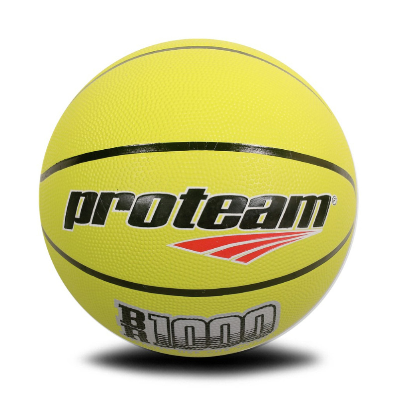 PROTEAM Bola Basket Rubber BR 10004.8 YELLOW