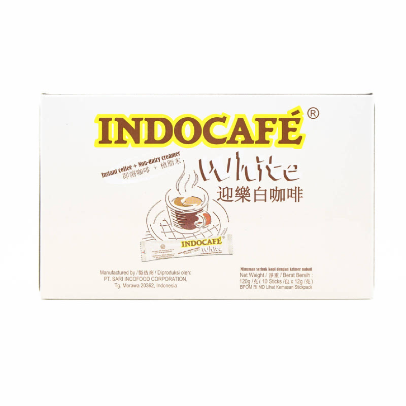 Indocafe White Coffee [10 X 12G]