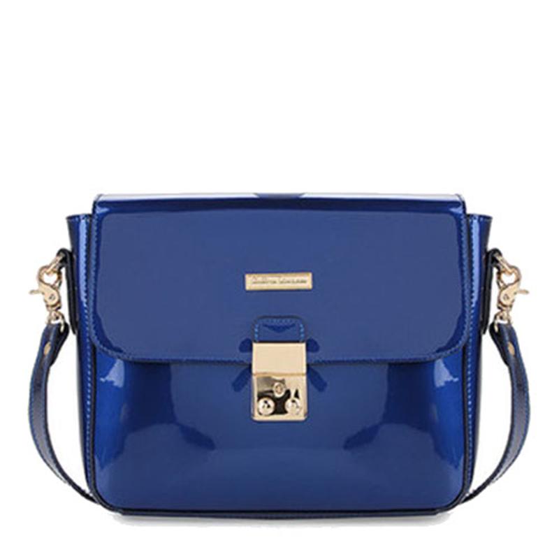 Phillipe Jourdan Betty Satchel Bag Blue