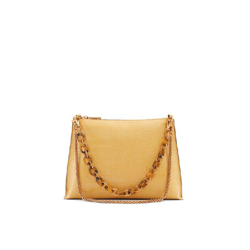 Aldo Ladies Crossbody Bags ONALLA-701 Dark Yellow