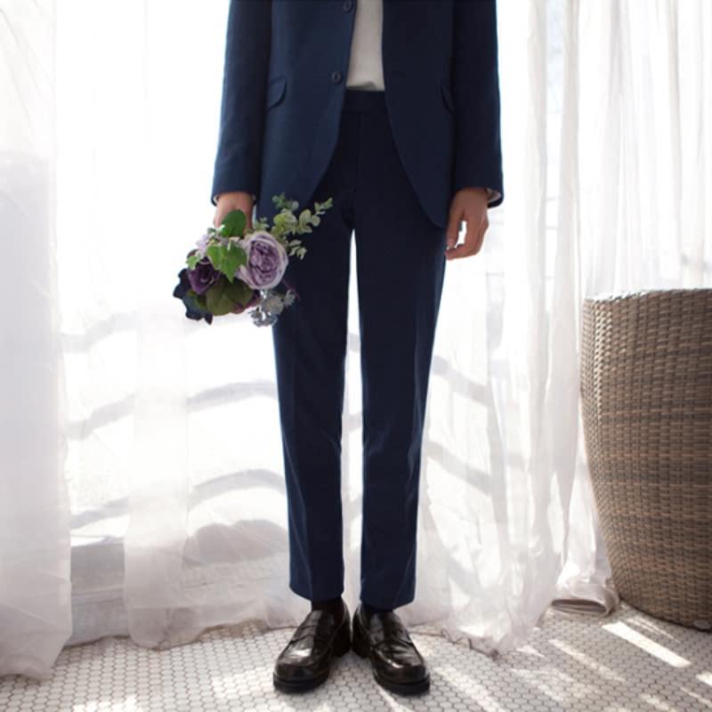 Spring Suit Slacks - Navy