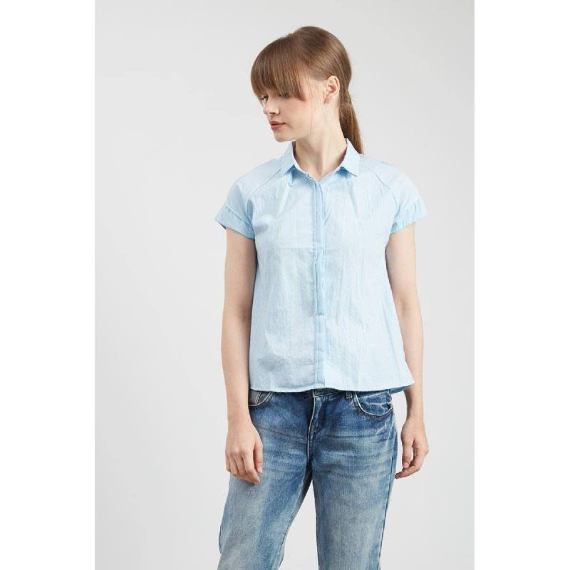 Gwen Haslach Top in Light Blue