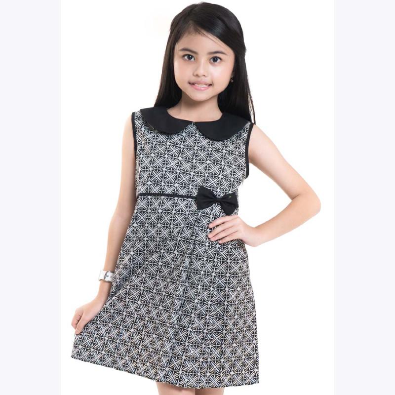 (3-6) Sleeveless Cotton Dress CG16-001A