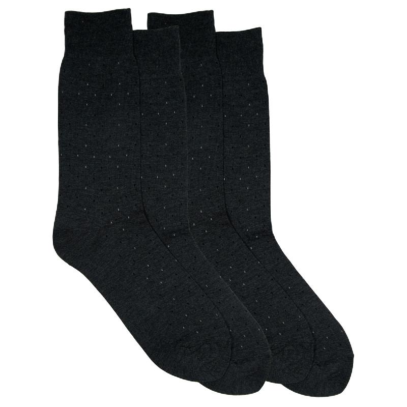 Gunze Men Casual Socks 1Box isi 2Pasang SG032 Black