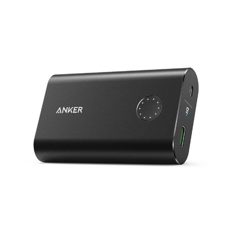 Anker Power Bank A1311H11 PowerCore+10050 with QC - Hitam