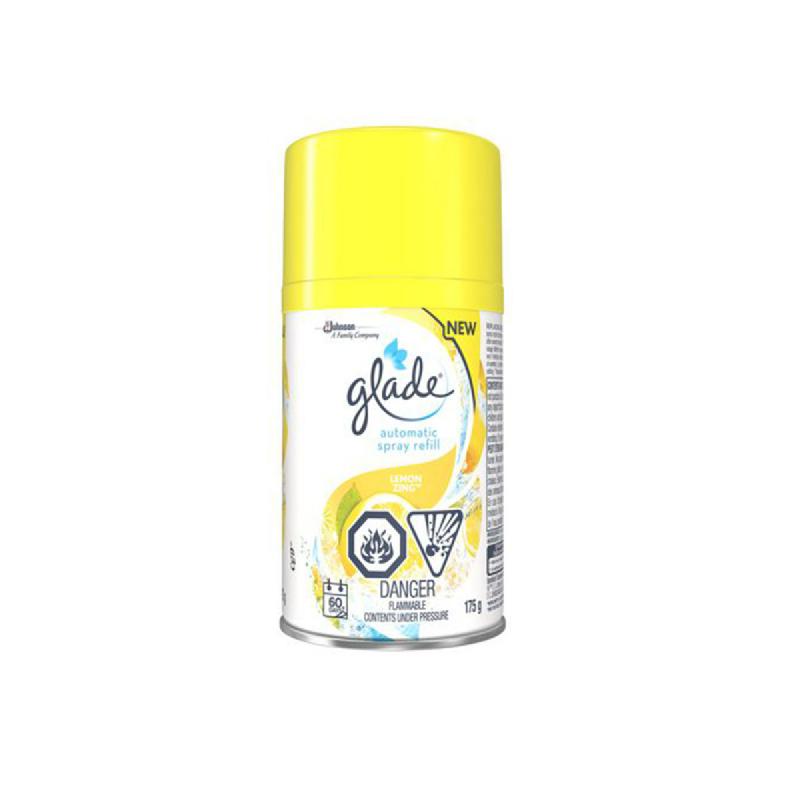 Glade Automatic Spray Reff Fresh Lemon 175G
