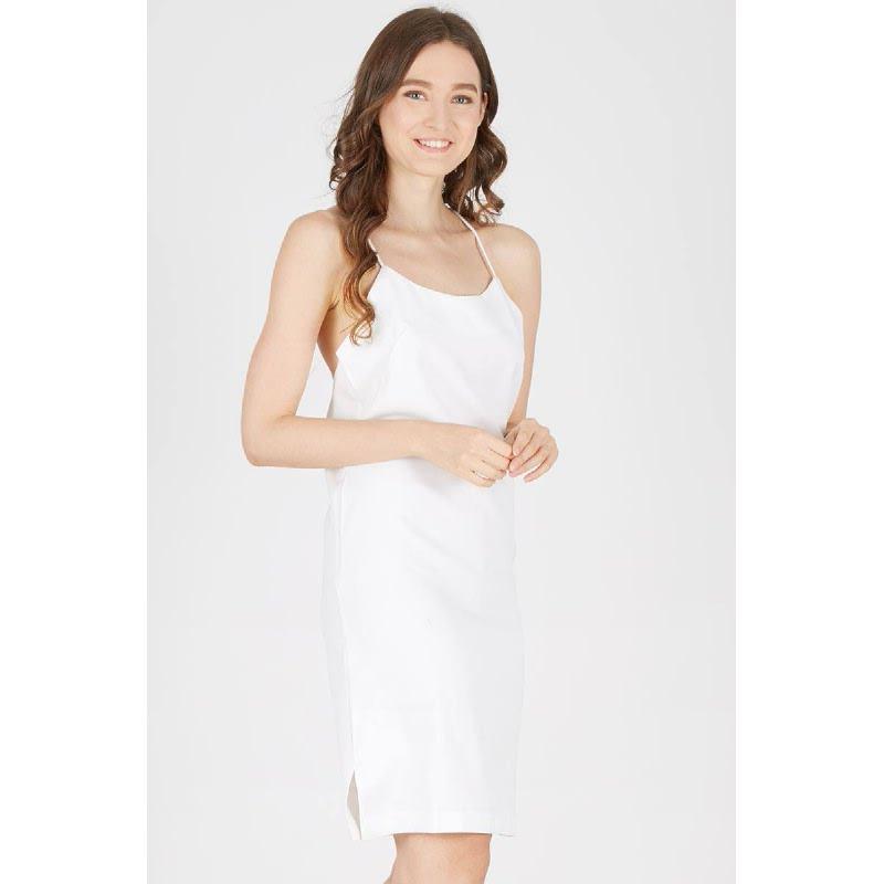 Francois Wahren Dress in White